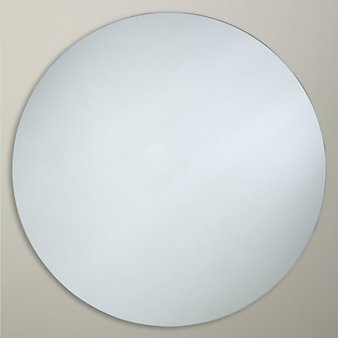 Buy John Lewis Scandi Round Mirror, Dia.80cm Online at johnlewis.com