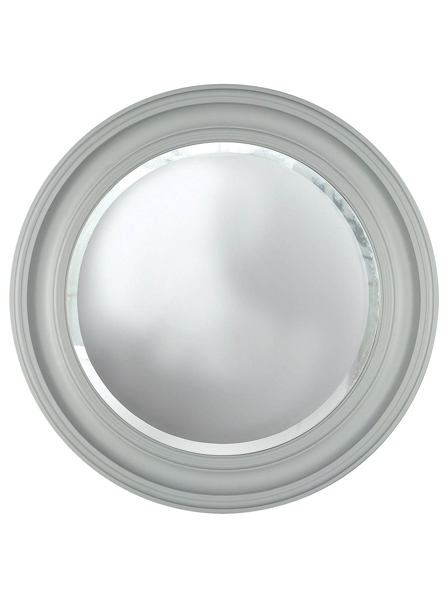 Croft Collection Large Porthole Round Mirror Dia 68cm Grey At John Lewis Partners