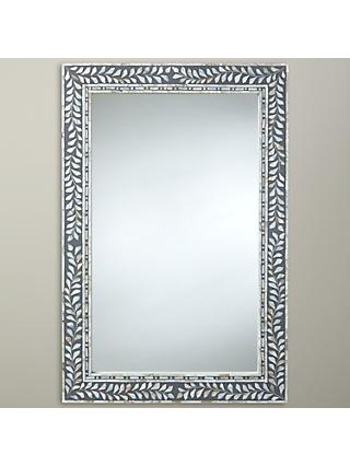 John Lewis & Partners Mother Of Pearl Mirror, 60 x 90cm
