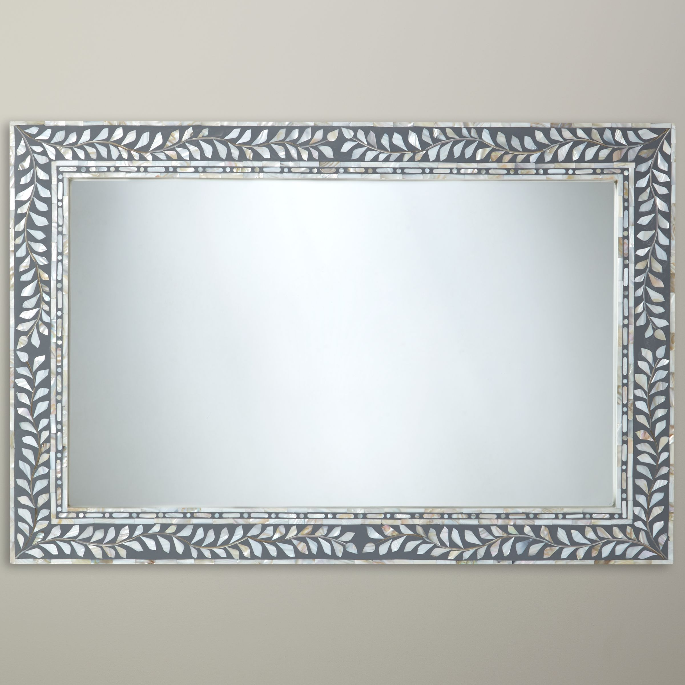 Mother Of Pearl Mirror Decorative Mirrors Home Furniture
