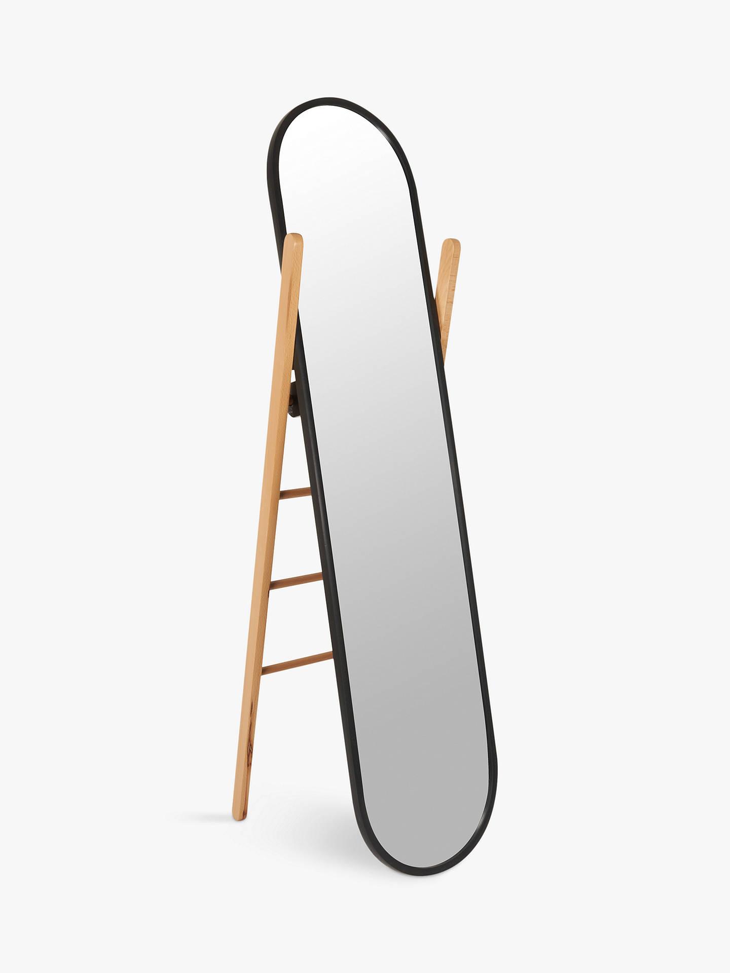 Umbra Hub Cheval Mirror, 158 X 58.5cm, Black by Umbra