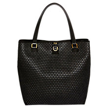 Buy Karen Millen Large Perforated Tote Bag Online at johnlewis.com