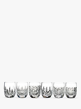 Waterford Lismore Connoisseur Heritage Round Tasting Tumblers, Set of 6