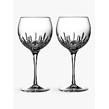 Buy Waterford Lismore Essence Balloon Wine Glasses, 520ml, Set of 2 Online at johnlewis.com