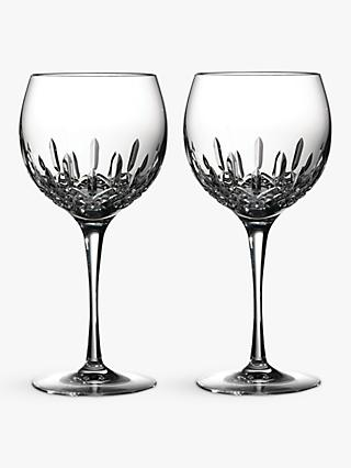 Waterford Lismore Essence Balloon Wine Glasses, 520ml, Set of 2