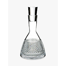 Buy Waterford Diamond Line Crystal Glass Decanter, 750ml Online at johnlewis.com