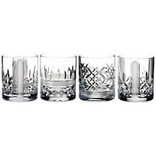 Buy Waterford Lismore Stories Revolution Tumblers, Set of 4 Online at johnlewis.com