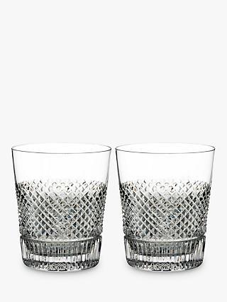 9b8e30e045 Waterford Diamond Line Crystal Whisky Glass