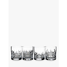 Buy Waterford Lismore Stories Evolution Tumblers, Set of 4 Online at johnlewis.com