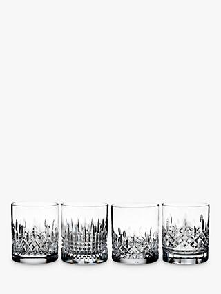 Waterford Lismore Stories Evolution Tumblers, Set of 4