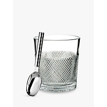 Buy Waterford Diamond Line Crystal Glass Ice Bucket, 3.3L Online at johnlewis.com