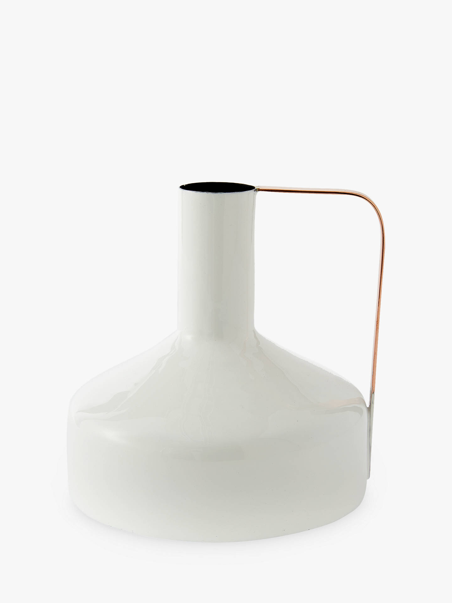 West Elm Small Jug White At John Lewis Partners
