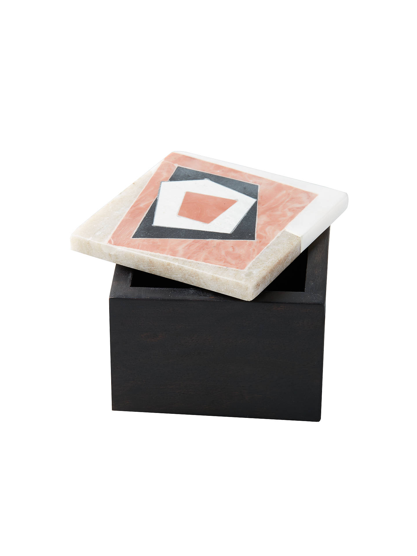Buy Roar + Rabbit for west elm Decorative Square Box, Multi Online at johnlewis.com