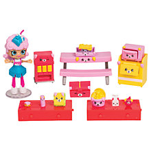 Buy Shopkins Happy Places Hungry Puppy Cafeteria Playset Online at johnlewis.com