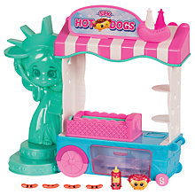 Buy Shopkins World Vacation Hot Dog Stand Playset Online at johnlewis.com