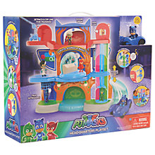 Buy PJ Masks Headquarters Playset Online at johnlewis.com