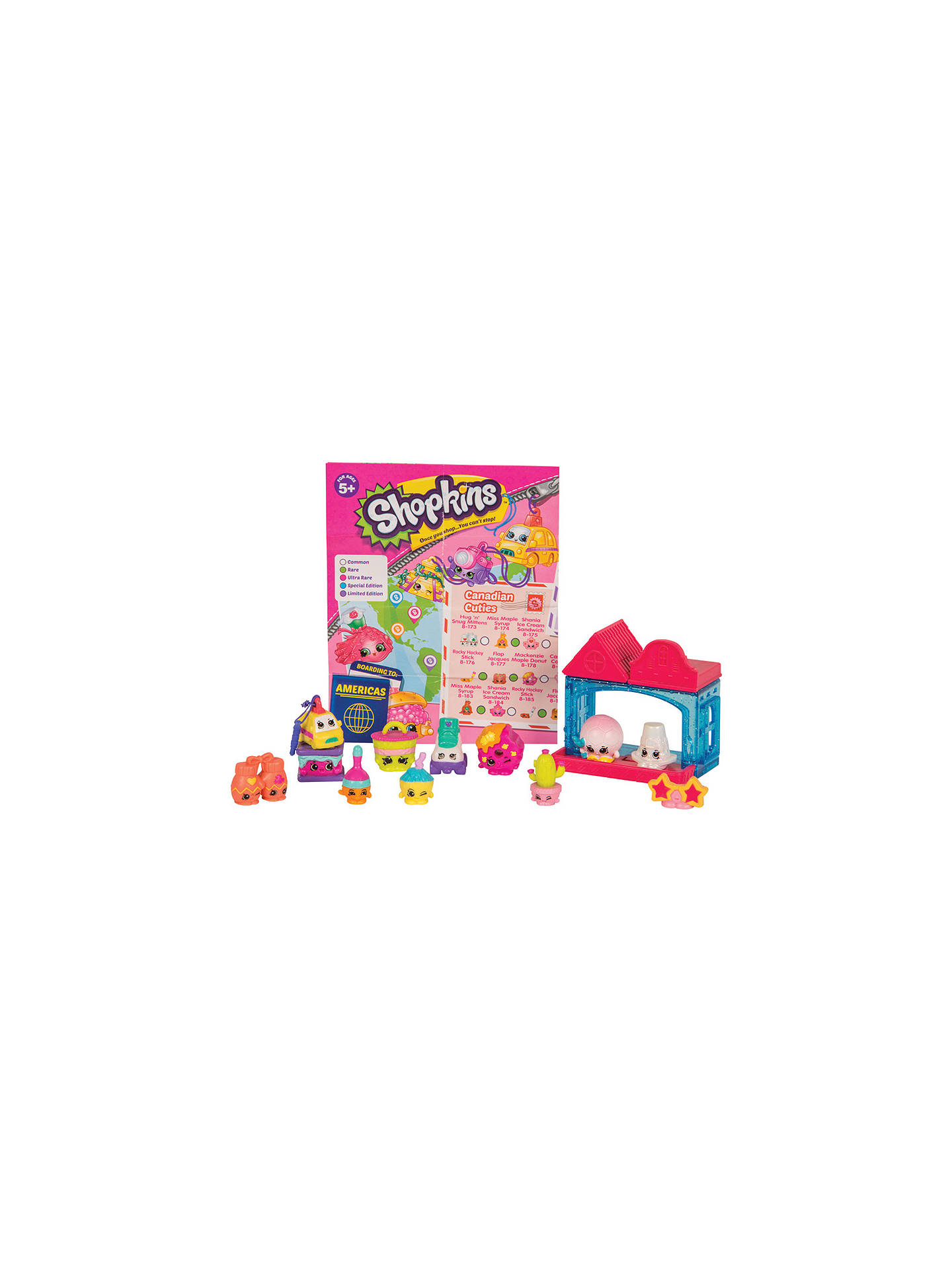 Shopkins series 8 world vacation the americas pack of 12 - John lewis shopkins ...