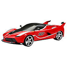 Buy New Bright Ferrari FXX-K 1:8 Radio Control Car Online at johnlewis.com