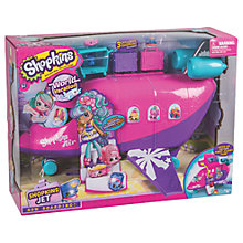 Buy Shopkins World Vacation Skyanna's Jet Playset Online at johnlewis.com