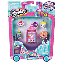 Buy Shopkins Series 8 World Vacation, Pack of 5 Online at johnlewis.com