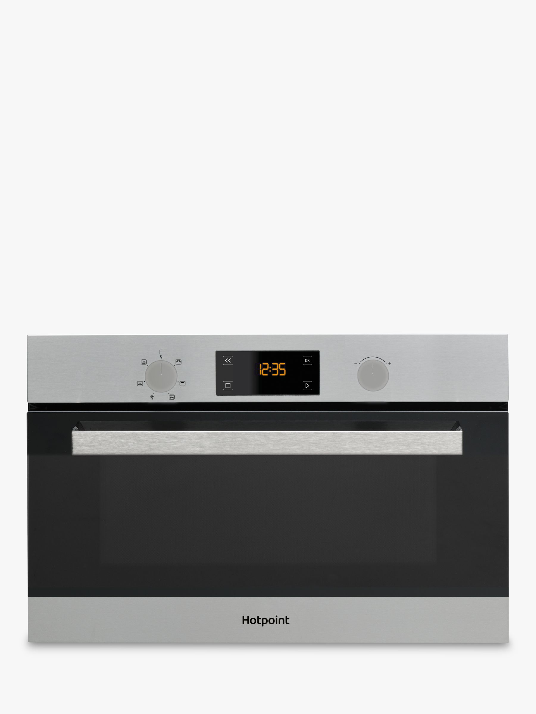 Hotpoint Hotpoint MD 344 IX H Microwave with Grill, Stainless Steel
