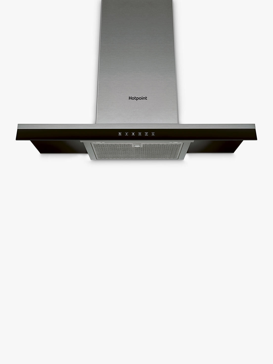 Buy Hotpoint Phbg9.8ltsix Chimney Cooker Hood, Stainless Steel Online at johnlewis.com