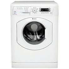Buy Hotpoint WDD 750P Freestanding Washer Dryer, 7kg Wash/5kg Dry Load, A Energy Rating, 1400rpm Spin, White Online at johnlewis.com