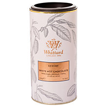 Buy Whittard Luxury White Hot Chocolate, 350g Online at johnlewis.com