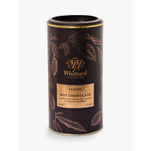 Buy Whittard Luxury Milk Hot Chocolate, 350g Online at johnlewis.com