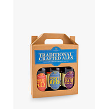 Buy Staffordshire Brewery Traditional Crafted Ales, Box of 3, 1.5L Online at johnlewis.com