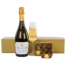 Buy Prosecco and Chocolates Gift Box Online at johnlewis.com