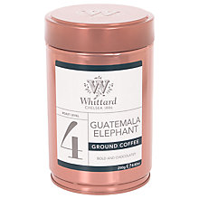 Buy Whittard Guatemala Elephant Ground Coffee, 250g Online at johnlewis.com