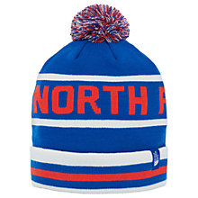 Buy The North Face Ski Tuke V Beanie Hat, One Size, Blue/Red/White Online at johnlewis.com