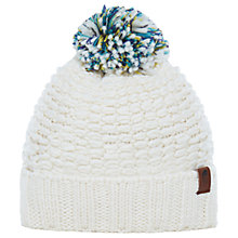 Buy The North Face Cozy Chunky Beanie Hat, One Size, White Online at johnlewis.com