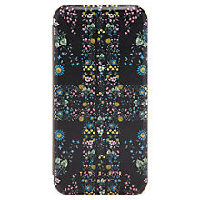 Buy Ted Baker Lilama Unity Flag iPhone Case, Black Online at johnlewis.com