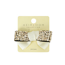 Buy John Lewis Heirloom Collection Girls' Sequin Bow Online at johnlewis.com