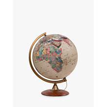 Buy Nova Rico Colombo Illuminated Globe, Brown, 30cm Online at johnlewis.com