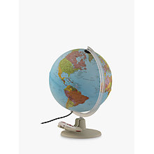 Buy Illuminated Talking Globe With Pen, 30cm Online at johnlewis.com