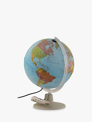 Illuminated Talking Globe With Pen, 30cm