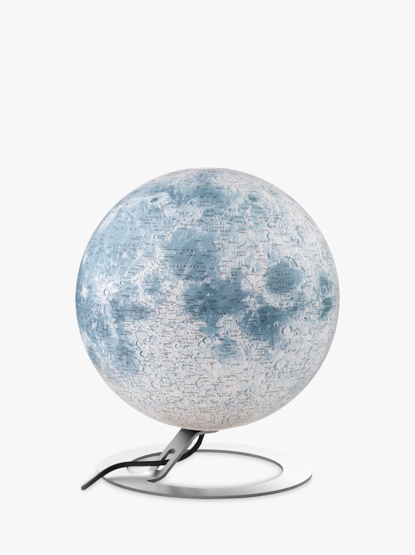 National Geographic National Geographic The Moon Globe, White, 30cm