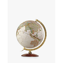 Buy National Geographic Executive Brass Edge Globe, Brown, 30cm Online at johnlewis.com