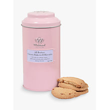 Buy Whittard All Butter Cherry Bakewell Biscuits, 150g Online at johnlewis.com