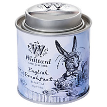Buy Whittard Alice English Breakfast Tea Caddy, 40g Online at johnlewis.com