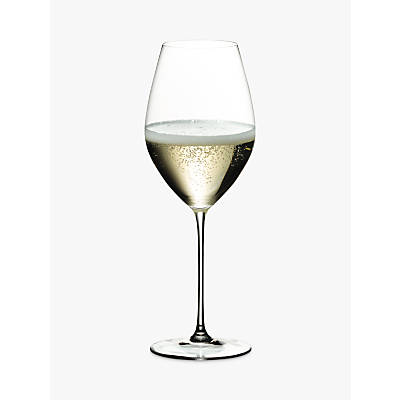 riedel veritas champagne and sparkling wine crystal glass, clear, 690ml