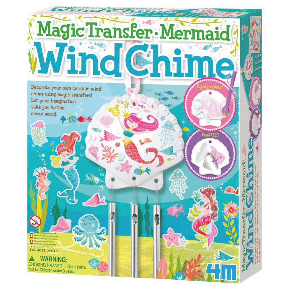 Make Your Own Magic Transfer Mermaid Wind Chime