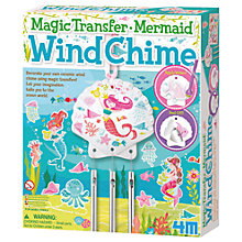 Buy Make Your Own Magic Transfer Mermaid Wind Chime Online at johnlewis.com