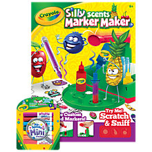 Buy Crayola Silly Scents Marker Maker Online at johnlewis.com