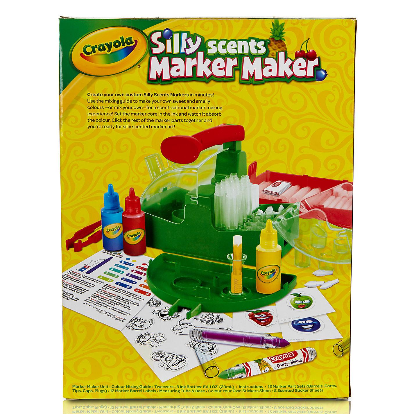 Crayola Marker Maker Color Chart Choice Image - Free Any Chart ...
