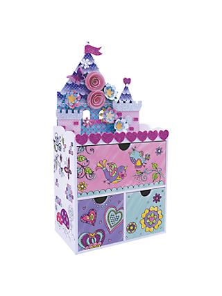John Lewis & Partners Enchanted Castle Jewellery Box Kit