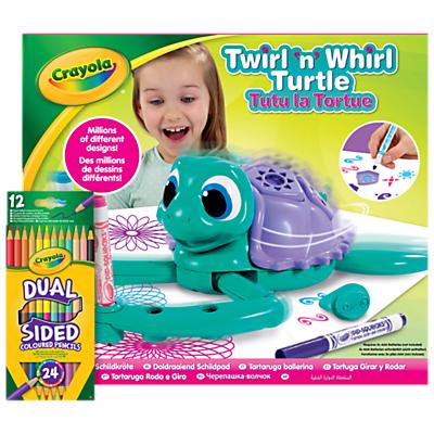 Crayola Twirl N Whirl Turtle Pack